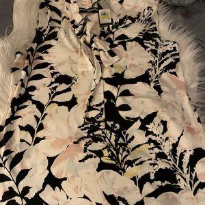 Flower Print Blouse by Karl Lagerfeld